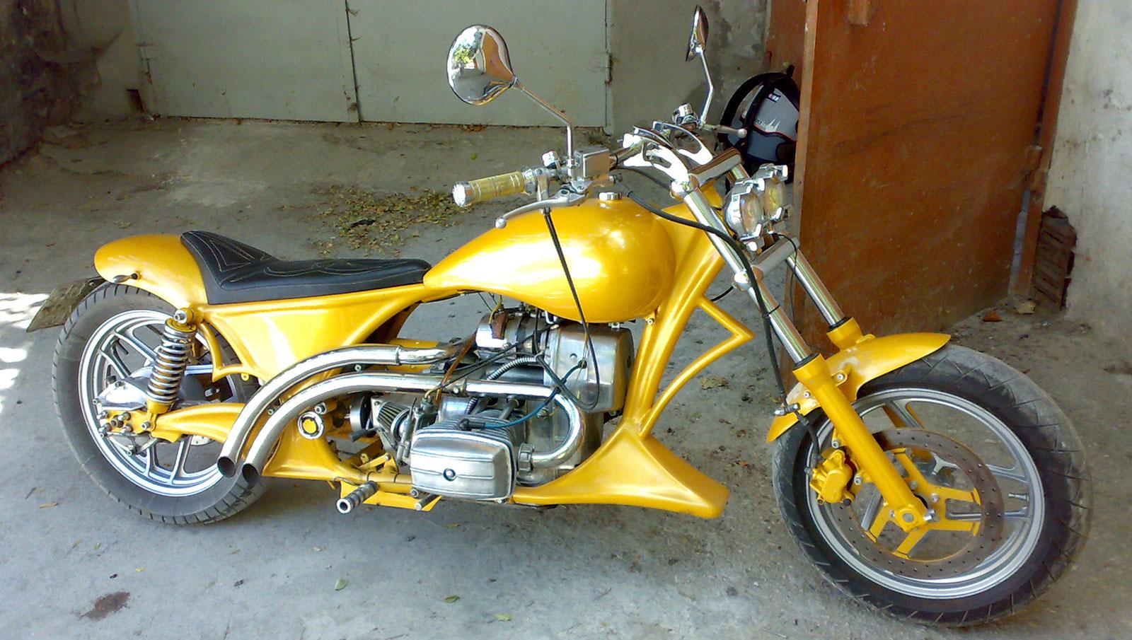 Moto032: Тюнинг мотоцикла минск 84
