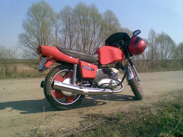 Мотоцикл иж тюнинг своими руками